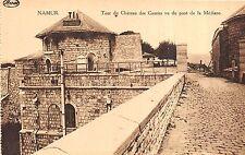 BR35855 Tour du Chtaeau des Comtes cu du pont de la mediane Namur belgium