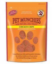 Pet Munchies Chicken Chips ~ 4 x 100g Packs ~ 100% Natural Dog Treats
