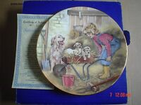 Royal Worcester Hamilton Collection Collectors Plate SATURDAYS CHILD