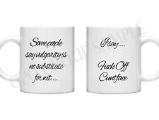 Insulting Mugs F*ck Off Rude Mugs Crude Mug Rude Gifts Crude Gift 11oz Mug Gift
