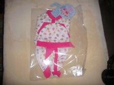Puppenkleidung  Set 3tlg.   z.B. Baby Born, Reborn Baby  40-45 cm