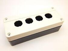 Gehäuse für 4x 22 mm Schalter | Leergehäuse, Befehlsgeräte, Schalttafel