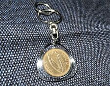 Irish penny Key ring - coin - Ireland - birthday - Lucky penny - Keyring - 1942