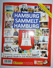 Panini Hamburg sammelt Hamburg Teil 1 (rot) - Album und alle 216 Sticker (lose)