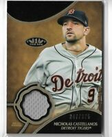 2019 Topps Tier One Baseball Nicholas Castellanos Tier One Relic Card 347/375