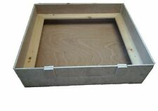 "WHELPING BOX 36"" X 36"" X 14"". Wooden.  FREE 48hr Courier service."