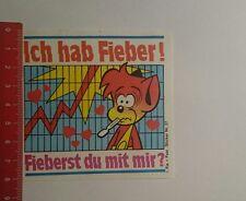 Aufkleber/Sticker: Ich hab Fieber fieberst du mit mir (111116135)