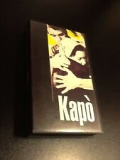 KAPÒ VHS di Gillo  Pontecorvo