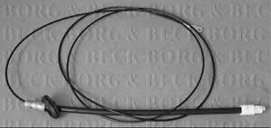 BORG & BECK HANDBRAKE CABLE FOR A MERCEDES-BENZ SPRINTER BOX 2.2 70KW