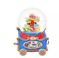 Disney Store JAPAN Snow Globe The Three Caballeros Mini Dolly Collection New