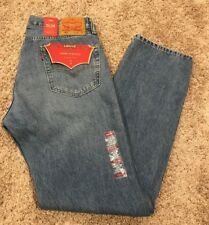 NWT Levis 505 Mens Jeans Regular Fit W Stretch Straight Leg 00505-1598 MSRP$59