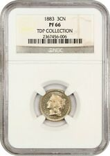 1883 3cN NGC PR 66 ex: TDP Collection - 3-Cent Nickel - Lovely Gem!
