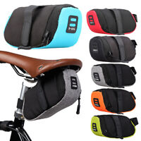 MTB Bike Bicycle Saddle Bag Under Seat Storage Tail Pouch Cycling Rear Pack AU