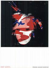Plakat Kunst: Sprengel Museum - Andy Warhol - Selbstporträt / 15