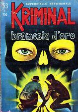 KRIMINAL N. 53 DEL 30.06.1966