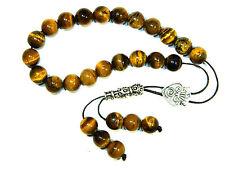 0402 - Loose String Greek Komboloi Prayer Beads Worry Beads 10mm Tiger Eye Beads