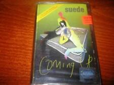 SUEDE - COMING UP MADE IN BULGARIA CASSETTE Bulgarian Edition TAPE NEW RARE