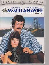 McMillan & Wife Complete First 1st Season New DVD Box Set