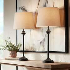 360 Lighting Modern Buffet Table Lamps Set of 2 Bronze...