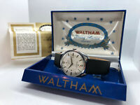 Serviced Waltham Selfwinding Vintage Mens Watch With Box 1960s
