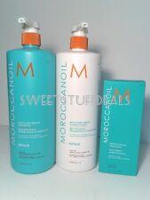 Moroccanoil Moisture Repair Shampoo and Conditioner 33.8oz / 1L Combo
