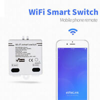 2020 EWelink Smart Home WiFi Wireless Switch Module for IOS Android APP Control