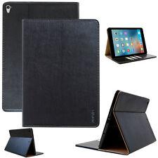 """Cuero cover Apple iPad pro 10,5"""" (pequeño) cubierta protectora funda Tablet Case negro"""