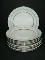 Holyoke Bone China By Oxford Div Of Lenox White Daisies 11 Bread & Butter Plates