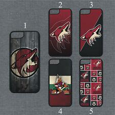 Arizona Coyotes Phone Case For iPhone 11 Pro X XS Max 8+ 7 6 Plus Black Cover