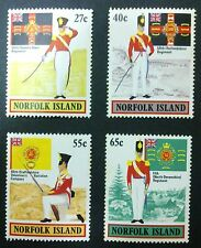 NORFOLK ISLAND STAMPS MNH - Military Uniforms, Norfolk Island, 1982, **