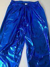 Shiny Wet Look Pvc Pants Glanz Men's Sexy Nylon Sport Retro Vintage XL