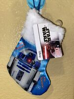 """BRAND NEW 8"""" STAR WARS R2D2 MINI CHRISTMAS STOCKING Decorations Holiday"""