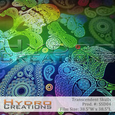 HYDROGRAPHIC FILM FOR HYDRO DIPPING WATER TRANSFER FILM TRANSCENDENT SKULLS