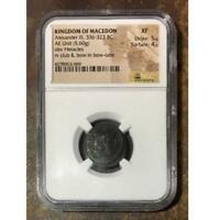 Kingdom of Macedon Alexander III 336-323 BC NGC XF ***Rev Tye's Stache*** #3009