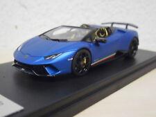 LookSmart - Lamborghini Huracan Performante Spyder - Blu Aegeus - LS481A - 1:43