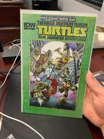 Teenage Mutant Ninja Turtles Free Comic Day IDW FCBD 2013 TMNT Comic