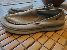 Patagonia Naked Khaki Shoes Women's 8 Slip On Loafers Hemp Natural