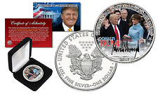 DONALD TRUMP Offical Presidential INAUGURATION 2017 1 oz U.S. SILVER EAGLE w/BOX