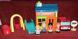 Elc happyland Pre-school Figures Park bus Toddler Toys Playset Bundle