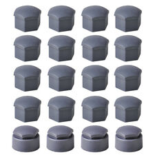 16x Wheel Lug Nut Center Cover + 4x Locking Caps 4F0601173A Fit for VW Audi