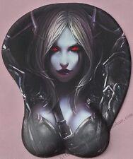 World of Warcraft WOW Sylvanas Windrunner 3D sexy Bust Mauspad Wrist rest