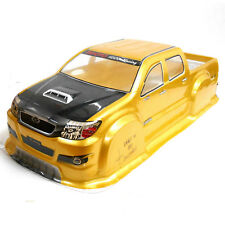 JLB23 RC 1/10 Scale Monster Truck Body Shell Cover Gold Uncut