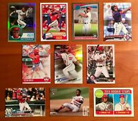 Victor Robles Rookie RC Chrome, Refractor, Inserts - 10 Card Lot!