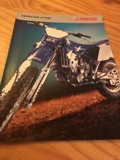 Yamaha WR450F Wr250F WR 450 250 F WR450 WR250 prospectus motorrad brochure