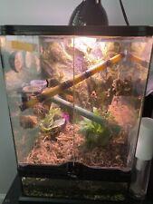 New listing Exo Terra Pt2608 24x18x36 inch Reptile Glass Natural Terrarium - Medium