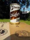 HUBER BOCK BY JOS. HUBER  STRAIGHT STEEL OLD BEER CAN