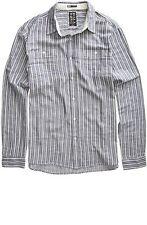 BILLABONG Men's BUCKY L/S Button-Up Shirt - NVY - Small - NWT