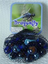 Dragonfly-Net Bag Of 24 Player Mega Marbles & 1 Shooter-Instructions & Facts