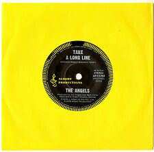 "THE ANGELS - TAKE A LONG LINE / LOVE TAKES CARE - 7"" 45 VINYL RECORD 1978"