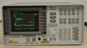 HP Agilent 8595E Spectrum Analyzer 9khz-6.5GHz, READ, NEEDS REPAIR